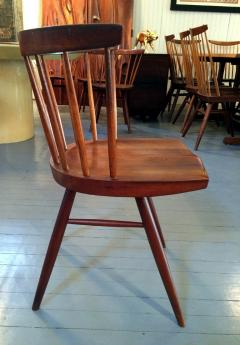 George Nakashima Early Set of Four Straight Back Chairs - 110906