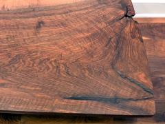 George Nakashima Early Slab Walnut Coffee Table George Nakashima - 1066394