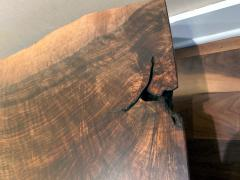 George Nakashima Early Slab Walnut Coffee Table George Nakashima - 1066396