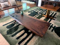 George Nakashima Early Slab Walnut Coffee Table George Nakashima - 1066430