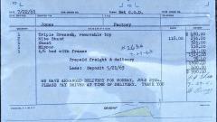 George Nakashima George Nakashima 9 Drawer Walnut Dresser Widdicomb 1963 - 1147349