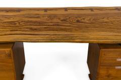 George Nakashima George Nakashima African Zebrawood Walnut Double Pedestal Desk - 1118322