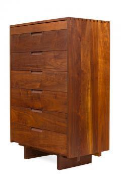 George Nakashima George Nakashima Black Walnut Chest of Drawers with Dovetail Joinery - 1223874