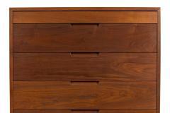 George Nakashima George Nakashima Black Walnut Chest of Drawers with Dovetail Joinery - 1223876