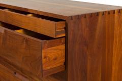 George Nakashima George Nakashima Black Walnut Chest of Drawers with Dovetail Joinery - 1223880