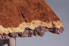 George Nakashima George Nakashima Burl English Oak Table with Crossed legged Base - 1285400