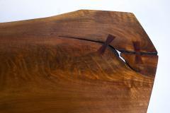 George Nakashima George Nakashima Conoid Coffee Table Free Edge English Walnut Slab 1963 - 1920580