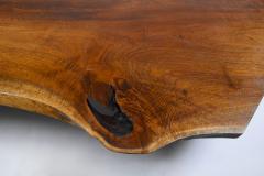 George Nakashima George Nakashima Conoid Coffee Table Free Edge English Walnut Slab 1963 - 1920581