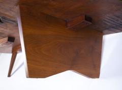George Nakashima George Nakashima Conoid Coffee Table Free Edge English Walnut Slab 1963 - 1920584