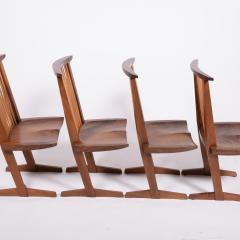 George Nakashima George Nakashima Conoid chairs 1980 - 1286126