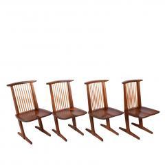 George Nakashima George Nakashima Conoid chairs 1980 - 1286130