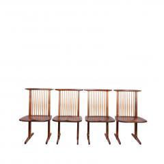 George Nakashima George Nakashima Conoid chairs 1980 - 1286131
