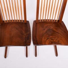George Nakashima George Nakashima Conoid chairs 1980 - 1286135