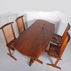 George Nakashima George Nakashima Conoid chairs 1980 - 1286202
