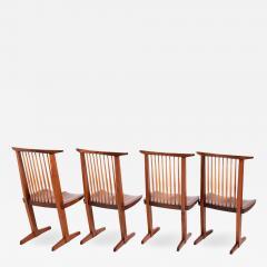 George Nakashima George Nakashima Conoid chairs 1980 - 1293232
