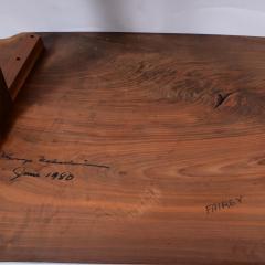 George Nakashima George Nakashima Conoid single board dining table 1980 - 1286080