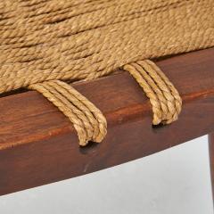 George Nakashima George Nakashima Grass Rope Seat Stool - 991091