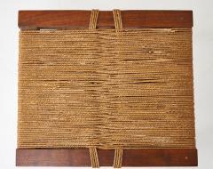 George Nakashima George Nakashima Grass Rope Seat Stool - 991092