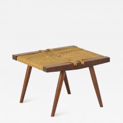 George Nakashima George Nakashima Grass Rope Seat Stool - 991170