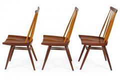 George Nakashima George Nakashima Set of Six Walnut and Hickory New Chairs  - 1233340