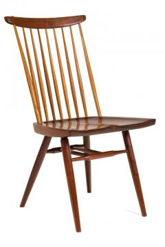 George Nakashima George Nakashima Set of Six Walnut and Hickory New Chairs  - 1233344