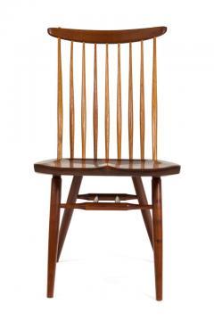 George Nakashima George Nakashima Set of Six Walnut and Hickory New Chairs  - 1233345