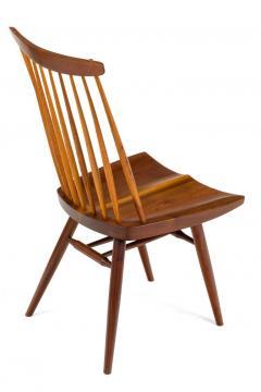 George Nakashima George Nakashima Set of Six Walnut and Hickory New Chairs  - 1233347