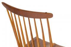 George Nakashima George Nakashima Set of Six Walnut and Hickory New Chairs  - 1233348
