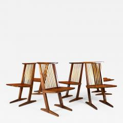 George Nakashima George Nakashima Six Conoid Chairs - 1743526
