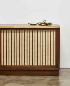 George Nakashima George Nakashima Two Door Walnut Cabinet 1960s - 300414