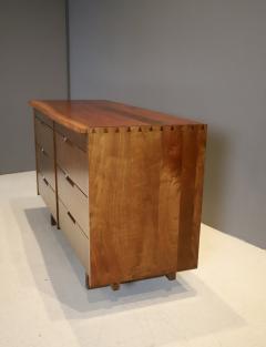 George Nakashima George Nakashima Walnut Chest of Drawers with Live Edge 1960s - 1854112