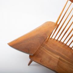 George Nakashima George Nakashima Walnut Lounge chair Sap Arm Right 1975 With COA - 1081248