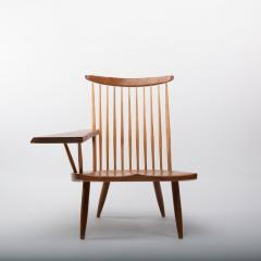 George Nakashima George Nakashima Walnut Lounge chair Sap Arm Right 1975 With COA - 1081250