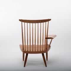 George Nakashima George Nakashima Walnut Lounge chair Sap Arm Right 1975 With COA - 1081252