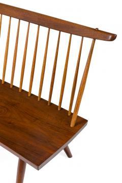 George Nakashima George Nakashima Walnut Spindle Back Bench - 1137715