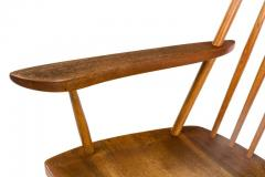 George Nakashima George Nakashima Walnut and Poplar New Chair Rocker USA 1961 - 734618