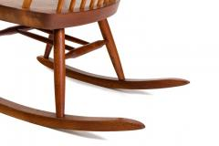 George Nakashima George Nakashima Walnut and Poplar New Chair Rocker USA 1961 - 734619
