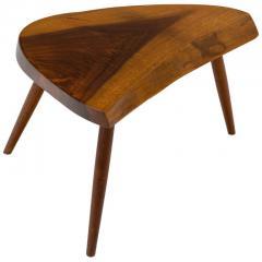 George Nakashima George Nakashima Wepman Walnut Occasional Table USA 1960s - 1935659