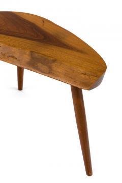 George Nakashima George Nakashima Wepman Walnut Occasional Table USA 1960s - 1935660