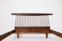 George Nakashima George Nakashima style wooden bed in original condition 1950s - 1967058