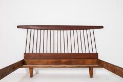 George Nakashima George Nakashima style wooden bed in original condition 1950s - 1967060