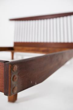 George Nakashima George Nakashima style wooden bed in original condition 1950s - 1967064