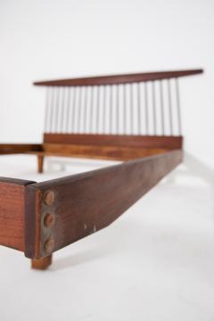 George Nakashima George Nakashima style wooden bed in original condition 1950s - 1967067