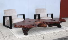 George Nakashima Massive Redwood Coffee Table - 1555037