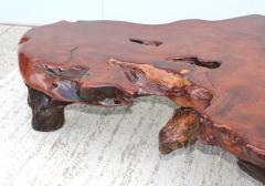 George Nakashima Massive Redwood Coffee Table - 1555040
