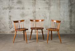 George Nakashima Nakashima Mira Chairs set of 3 - 630249