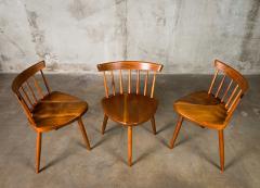 George Nakashima Nakashima Mira Chairs set of 3 - 630251