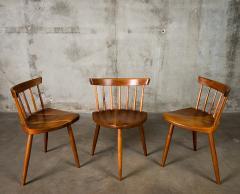George Nakashima Nakashima Mira Chairs set of 3 - 630252