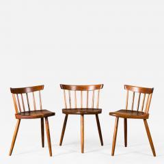 George Nakashima Nakashima Mira Chairs set of 3 - 631561