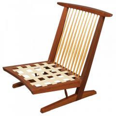 George Nakashima Pair of Conoid Cushion Chairs - 65449